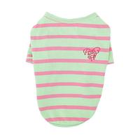 이츠독 네온캔디 티셔츠 핑크&그린