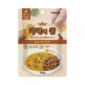더독 카레의 왕 닭고기&고구마 100g
