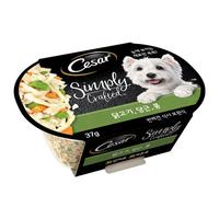 시저 심플리 닭고기&당근&콩 37g