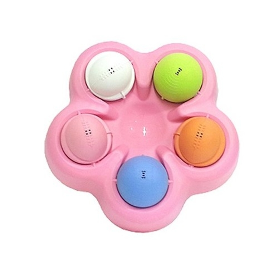 구루구루 애견장난감 핑크 사진