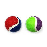 펫모닝 테니스볼 대형 1개 색상랜덤