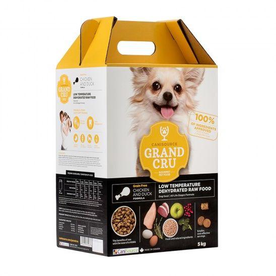 캐니소스 그랑크뤼 RAW Diet 사료 닭고기와 오리 5kg 사진