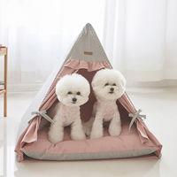 에코펫위드 강아지텐트 핑크