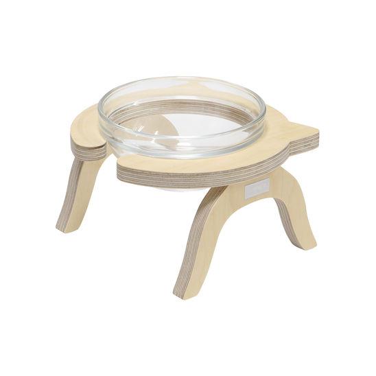 제프리공방 원목 수반 소형 기본 (물그릇 포함) 사진