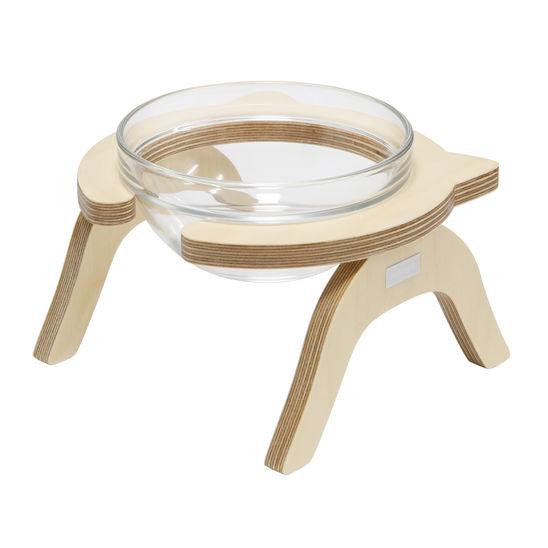 제프리공방 원목 수반 중형 프리미엄 (물그릇 포함) 사진